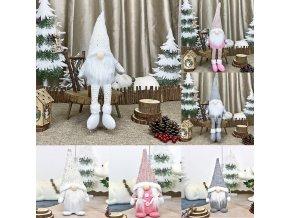 Veselý dekorační vánoční skřítek