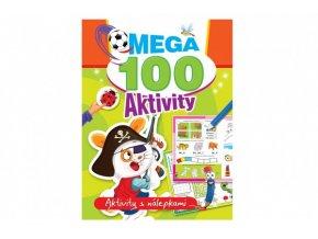 Mega aktivity 100 Pirát CZ verze 21x28cm