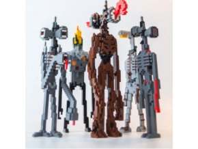 Siren Head figurky stavebnice z kostiček