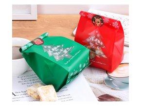 Dárkové tašky na vánoční cukroví, 25 ks