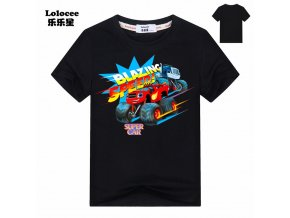 2018 New ROBLOX RED NOSE DAY Stardust Boys T Shirt Kids Summer Clothes Children Game T black (3)