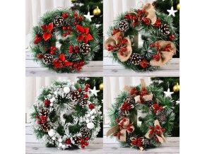 Vánoční dekorační věnec