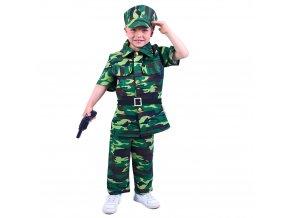 Dětský kostým Voják, M (6-8 let)