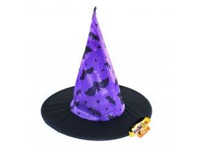Čarodějnický klobouk Netopýři