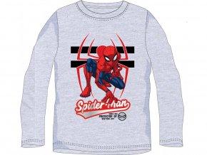 55485 tricko spiderman dl rukav sede chlapecke 104 134 6 kusu