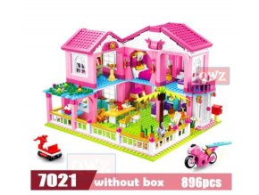 Mini stavebnice pro dívky, různé druhy