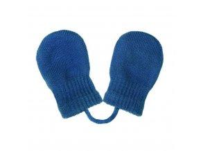 Dětské zimní rukavičky New Baby modré, vel. 56 (0-3m)