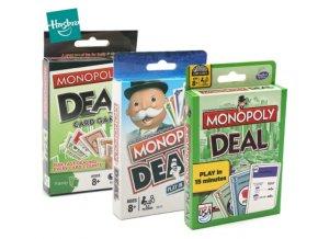 Hasbro Monopoly Deal - karetní hra