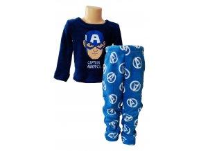 Avengers teplé pyžamo coral fleece