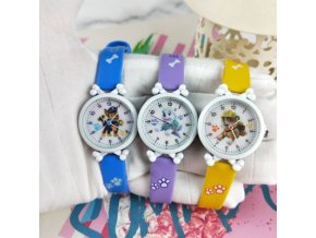 Paw patrol digital watch time Develop intelligence Learn Dog Everest Action Anime Figure patrulla canina Toy 2