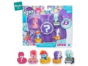Sada 4 figurek My Little Pony + jedna skrytá figurka