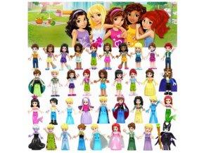 Figurky pohádkových postav, kompatibilní s LEGO