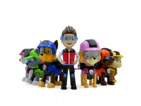 Hot Paw Patrol Plastic Playset Observatory Toys Patrulla Canina Toys With Music Action Figures Juguetes toys 6