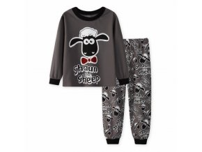 Kids pajamas sets children boys clothes sweet dreams cartoon girls pyjamas long sleeve tops pants 2pcs 3