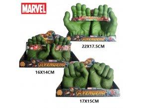 Silikonové rukavice hrdiny Hulka