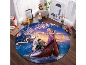 Kulatý koberec Disney pohádky