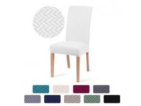Elastické strečové potahy na židle
