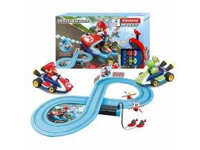 Autodráha Carrera FIRST Nintendo Mario Kart™- Mario and Yoshi 2,4m
