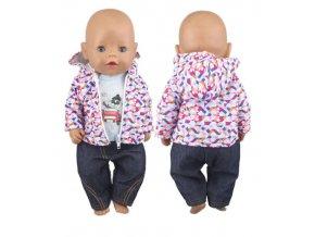 Různé oblečení na panenku Baby Born