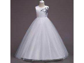 Summer Girls Long Evening Party Dress Elegant Kids Dresses For Girls Clothes Vestidos Teenage Wedding Dress 9