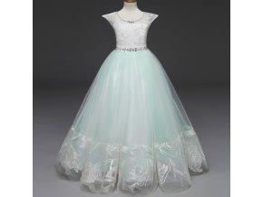 Summer Girls Long Evening Party Dress Elegant Kids Dresses For Girls Clothes Vestidos Teenage Wedding Dress 8