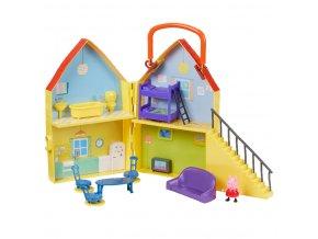 PEPPA PIG domeček s figurkou a příslušenstvím