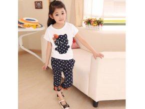 Girls clothes set cartoon baby summer suit 100 cotton short sleeve t shirt pants 2pcs for 0