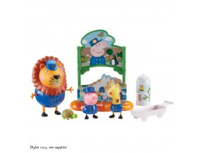 Peppa Pig sada ZOO 3 figurky a doplňky