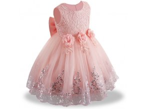Summer Dress for Children Flower Girls Dress Party Wedding Dress Elegent Princess Vestidos 9