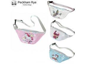 Fashion Unicorn Fanny Pack Women Teenager Girls Sequins Waist Bag Pink Shoulder Belt Bags Kids Waist 0