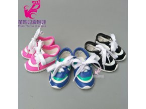 High quality doll shoes for 43CM baby new born doll shoes 18 girl doll sport shoes 0