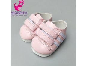 High quality doll shoes for 43CM baby new born doll shoes 18 girl doll sport shoes 10