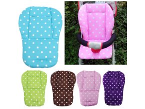 Baby Stroller Seat Cushion Pushchair High Chair Pram Car Colorful Soft Mattresses Carriages Seat Pad Stroller 2