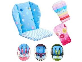 Baby High Chair Cushion Cover Kids Children Booster Mats Pads Feeding Chair Cushion Stroller Seat Cushion 0