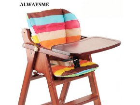 ALWAYSME Baby Kids Booster Seats Cushion Pad Mat Highchair Cushion Pad Mat Feeding Chair Cushion Pad 0