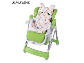 ALWAYSME Baby Kids Children High Chair Cushion Cover Booster Mats Pads Feeding Chair Cushion Stroller Seat 0