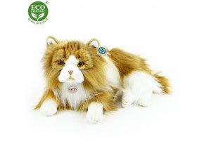 Plyšová kočka perská dvojbarevná 25 cm ECO-FRIENDLY