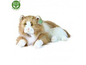 Plyšová kočka perská ležící 35 cm ECO-FRIENDLY