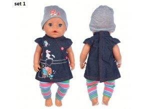 Roztomilé sety oblečků na American girl a BABY Born 43 cm