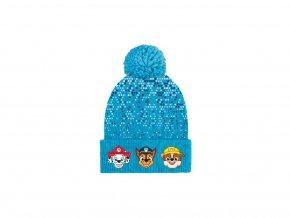 56229 cepice tlapkova patrola hlavicky modra zimni chlapecka 52 54 8 kusu