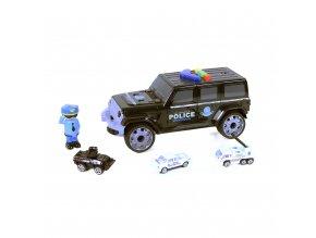 Auto policie - garáž pro auta