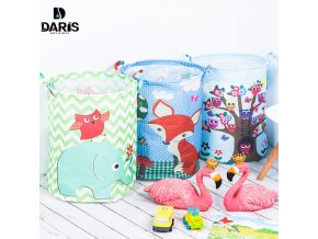 SDARISB 35 45cm Waterproof Storage Basket For Toy Dirty Laundry Basket Bag Clothes Toys Storage Box 0
