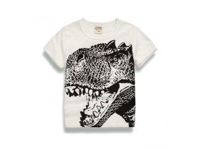 Boys Girls Cartoon T shirts Kids Dinosaur Print T Shirt For Boys Children Summer Short Sleeve 6