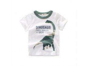 Boys Girls Cartoon T shirts Kids Dinosaur Print T Shirt For Boys Children Summer Short Sleeve 0