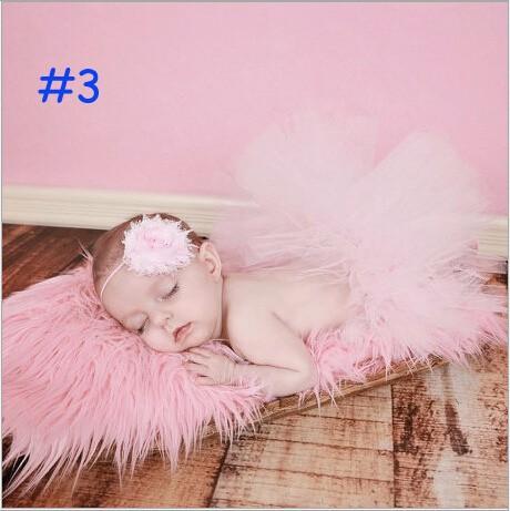 Barevná tutu sukýnka Barevná varianta: Světle růžová, Možnosti velikostí: 3M