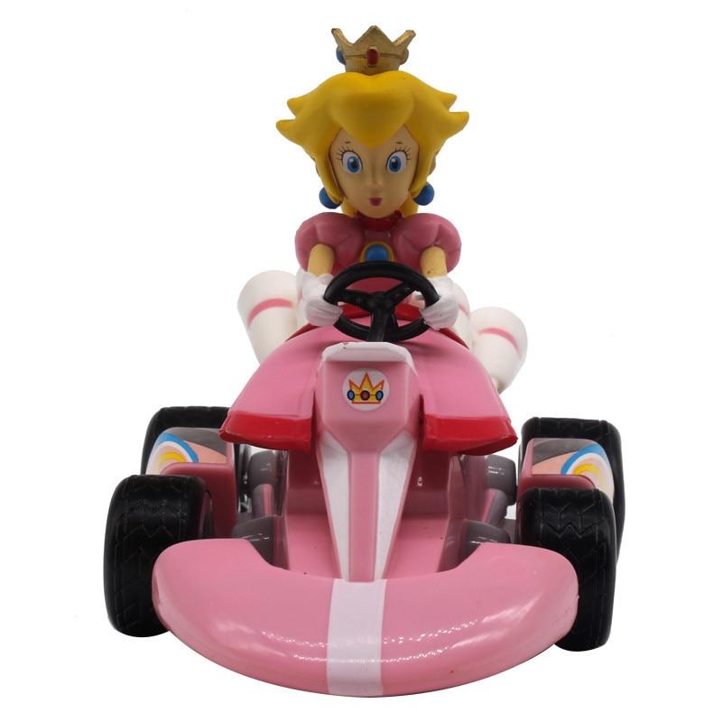 Figurky na motokárách ze hry Mario Motiv: princezna