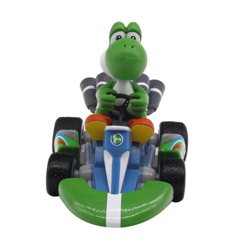 Figurky na motokárách ze hry Mario Motiv: Yoshi