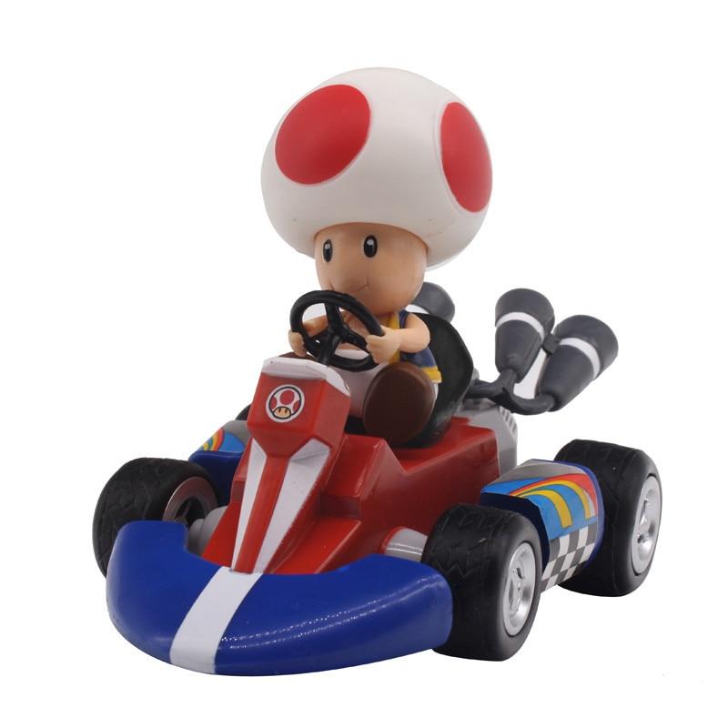 Figurky na motokárách ze hry Mario Motiv: houba