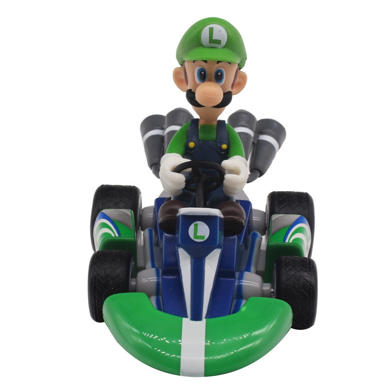 Figurky na motokárách ze hry Mario Motiv: Luigi