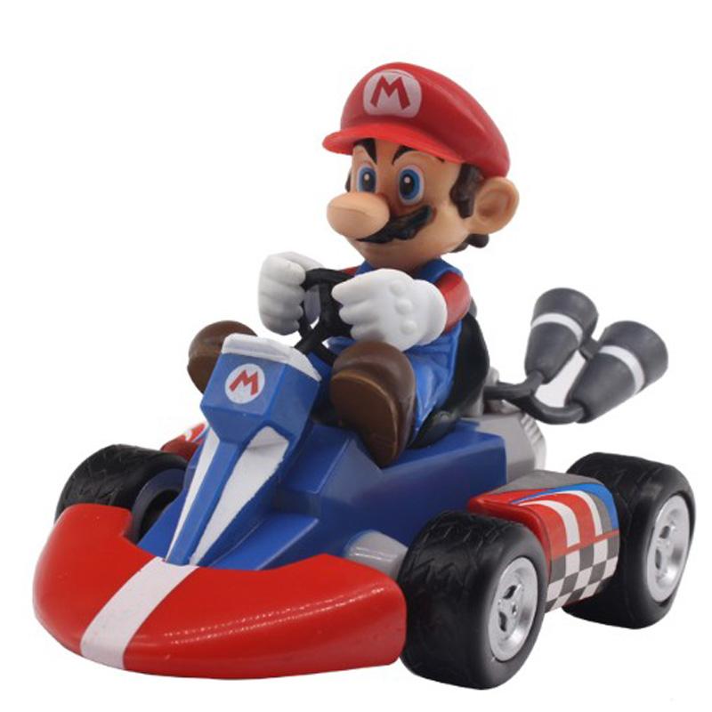 Figurky na motokárách ze hry Mario Motiv: Mario